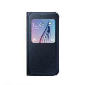 Púzdro Samsung EF-CG920PB S-View Cover Galaxy S6 čierne