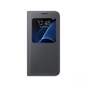 Púzdro Samsung EF-CG930PB S-View Cover Galaxy S7 čierne