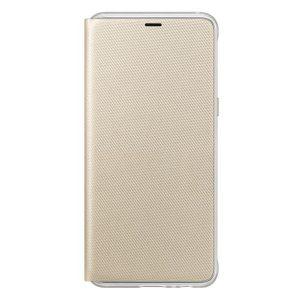 Púzdro Samsung EF-FA530PF Flip Cover Galaxy A5/A8 2018 zlaté