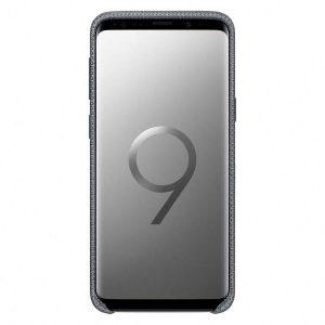 Púzdro Samsung EF-GG960FJ Hyperknit Cover Galaxy S9 šedé