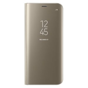 Púzdro Samsung EF-ZG950CF Clear View Galaxy S8 zlaté