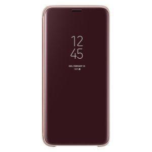 Púzdro Samsung EF-ZG960CF Clear View Galaxy S9 zlaté