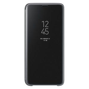 Púzdro Samsung EF-ZG965CB Clear View Galaxy S9 Plus čierne