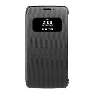 Originál LG flipové púzdro s okienkom pre LG G5 čierne