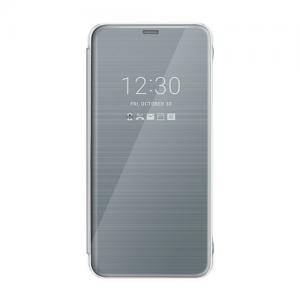 Originál LG flipové púzdro pre LG G6 Ice Platinum strieborné