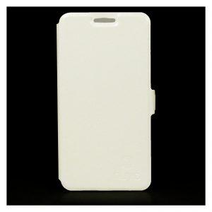 NUVO flipové púzdro iPhone 5/5S biele