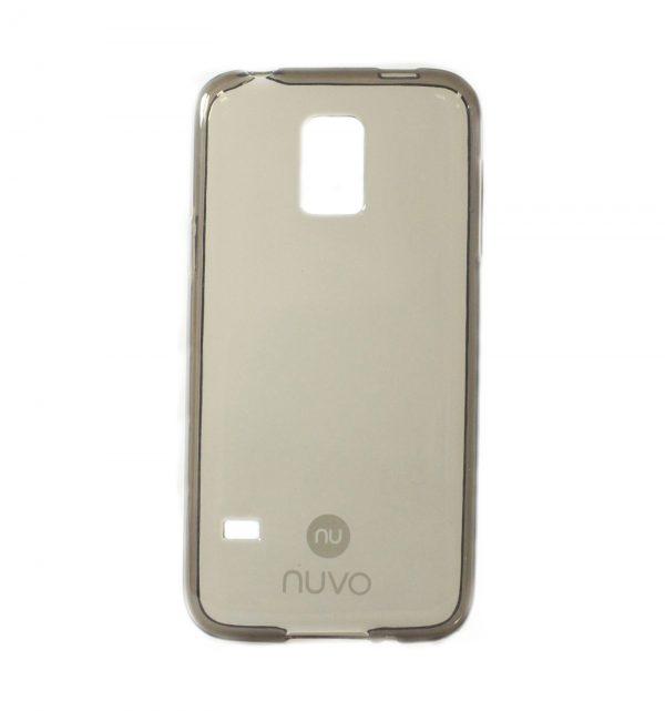 NUVO gumené púzdro Apple iPhone 6/6S Plus – tmavo šedé