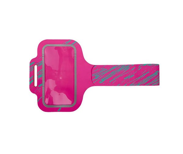 NUVO športové púzdro na rameno veľkosť XL – ružová