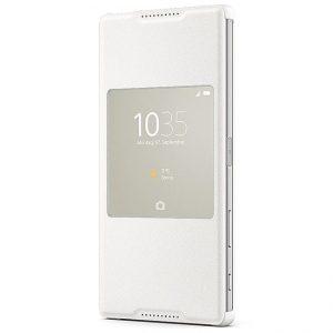 Púzdro Sony SCR46 Style Cover Flip Xperia Z5 Premium biele