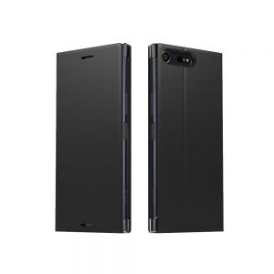 Púzdro Sony SCSF20 Style Cover Stand Xperia X Compact čierne