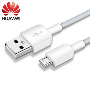 Dátový kábel HUAWEI originál micro USB biely