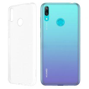 Púzdro Huawei Y6 2019 Flexible Clear Case transparentné
