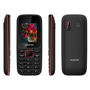 Aligator D200 Dual SIM čierno-červený