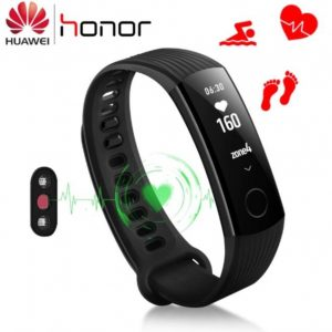 Honor Band 3 Classic Carbon Smart hodinky čierne