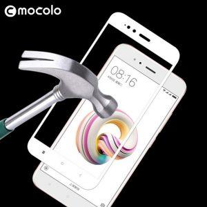 Mocolo 5D ochranné tvrdené sklo – iPhone 7/8 Plus biele #00001241