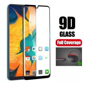 KINGMAS ochranné tvrdené sklo 9D Full Glue – Samsung Galaxy M20 čierne GA00044E