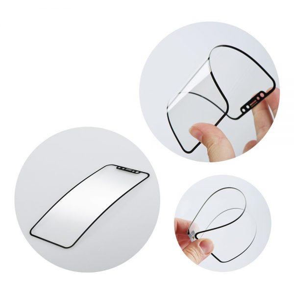 BestSuit Flexible Nano Glass 5D Full Glue keramické ochranné tvrdené sklo – Huawei P30 Pro čierne #00001604