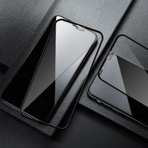 KINGMAS ochranné tvrdené sklo Real Glass 5D pre Apple iPhone X/XS/11 Pro čierne GA00009E