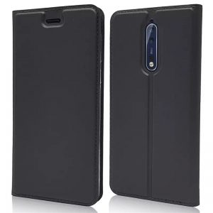 Knižka Luxury Wallet – Nokia 5 čierna