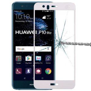 KINGMAS ochranné tvrdené sklo 3D Fullcover – Huawei P10 LITE biele GA00036E