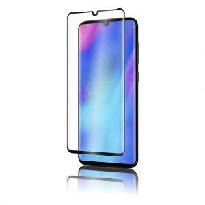 KINGMAS ochranné tvrdené sklo 3D Fullcover – Huawei P30 Pro čierne GA00053E