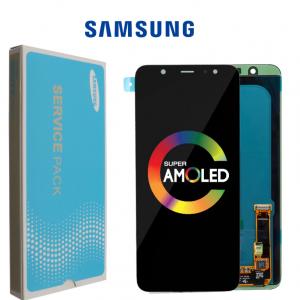 Samsung Galaxy A6 2018 (A600) – Originál LCD displej a dotyková plocha čierny (Service Pack)