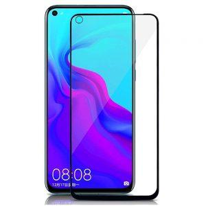 KINGMAS ochranné tvrdené sklo 5D Full Glue – Honor 20/20 Pro/Huawei Nova 5T čierne GA00061E