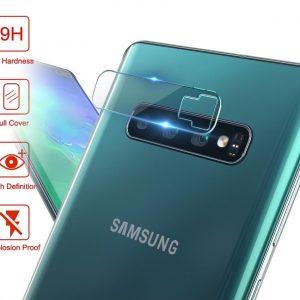 KINGMAS ochranné tvrdené sklo fotoaparátu pre Samsung Galaxy S10e GA00066E