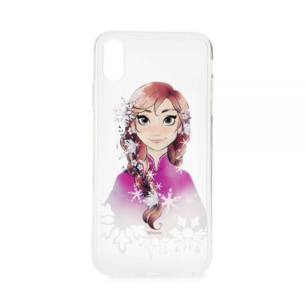Púzdro Disney Frozen Anna 001 Samsung Galaxy J6 Plus transparentné