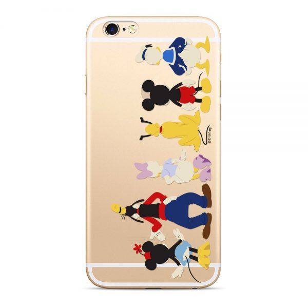 Púzdro Disney Mickey a priatelia 001 Samsung Galaxy J6 Plus transparentné
