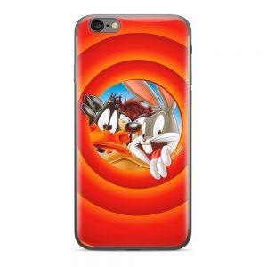 Puzdro Looney Tunes 002 Samsung Galaxy J3 2017 oranžové