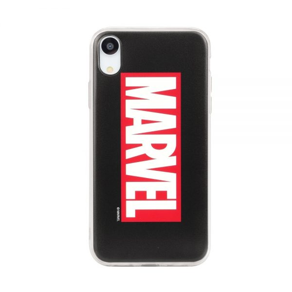Púzdro Marvel 001 iPhone X čierne