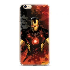 Púzdro Marvel Iron Man 003 Samsung Galaxy J6 Plus multicolor