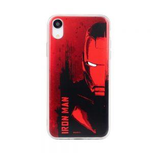 Púzdro Marvel Iron Man 004 Samsung Galaxy J6 Plus červené