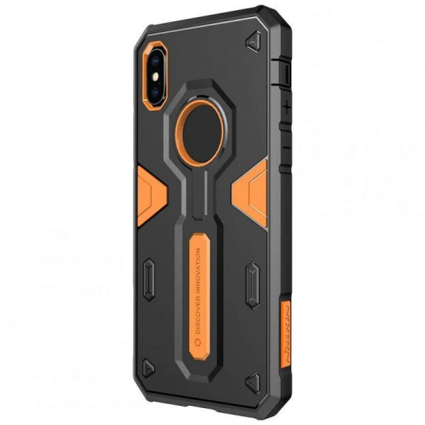 Púzdro Nilkin Defender 2 iPhone XR oranžové