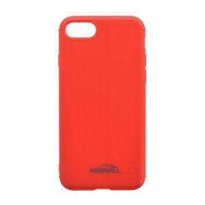 Púzdro Kisswill Brushed iPhone X/XS červené