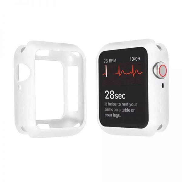 ProBefit Silicone Slim Puzdro Apple Watch Series 4/5/6/SE 44mm biele CA00086E