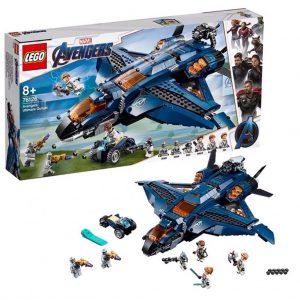 LEGO MARVEL 76126 Úžasný tryskáč Avengerov Quinjet