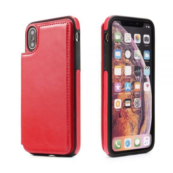 Púzdro Forcell Wallet Case – iPhone X/XS červené