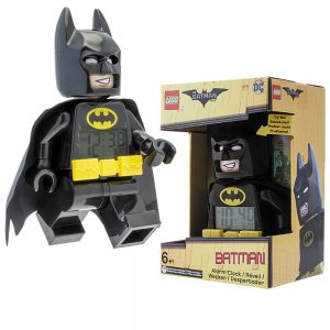 LEGO Batman Movie 9009327 Batman – hodiny s budíkom