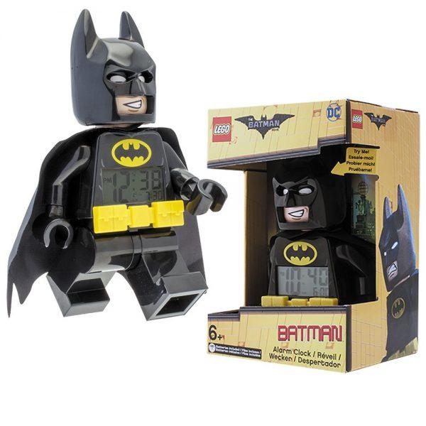 LEGO Batman Movie 9009327 Batman – hodiny s budíkom