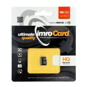 Pamäťová karta micro SDHC Imro 16GB class 10 bez adaptéra