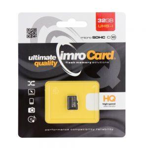 Pamäťová karta micro SDHC Imro 32GB class 10 bez adaptéra