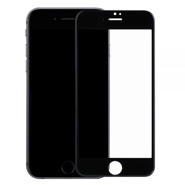 HARD Full Glue 5D ochranné tvrdené sklo – iPhone 7/8/SE 2020 čierne #00002091