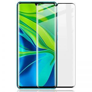 KINGMAS ochranné tvrdené sklo 3D Fullcover – Xiaomi Mi Note 10/10 Pro čierne GA00091E