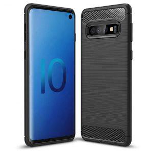 Púzdro TEL1 CARBON Samsung Galaxy Note 10 Plus čierne