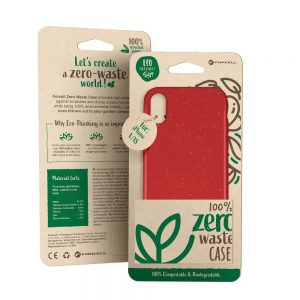 Púzdro Forcell BIO Zero Waste Case iPhone 11 červené