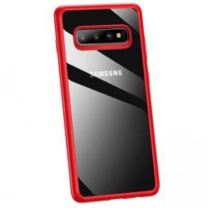 Púzdro USAMS Kingdom Samsung Galaxy Note 10 Plus červené
