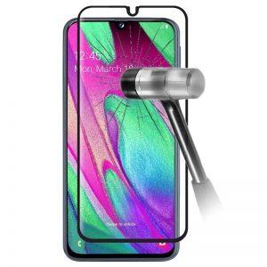 Smart Glass 5D ochranné tvrdené sklo – Samsung Galaxy A40 čierne #00002102