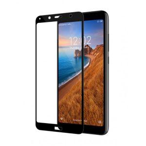 Smart Glass 5D ochranné tvrdené sklo – Xiaomi RedMi 7A čierne #00002104